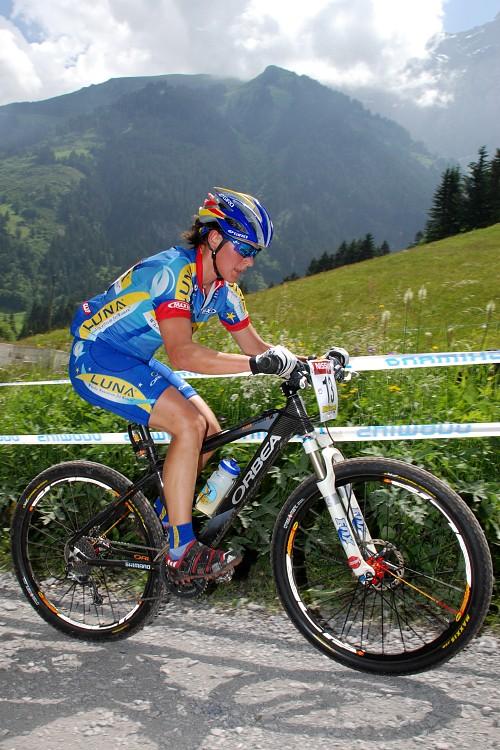 SP XC Champéry 2007 - Katka Nash Hanušová