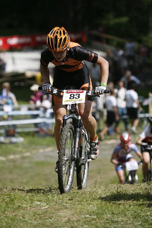 SP XC Champéry 2007 - Šárka Chmurová