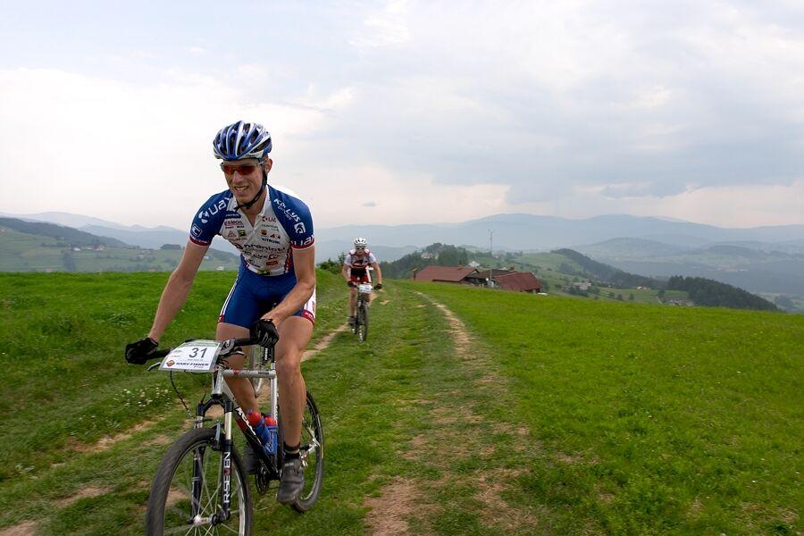 Beskidy MTB Trophy 2007 - 3. etapa 10.6. - autor reportáží Tomáš Gladiš