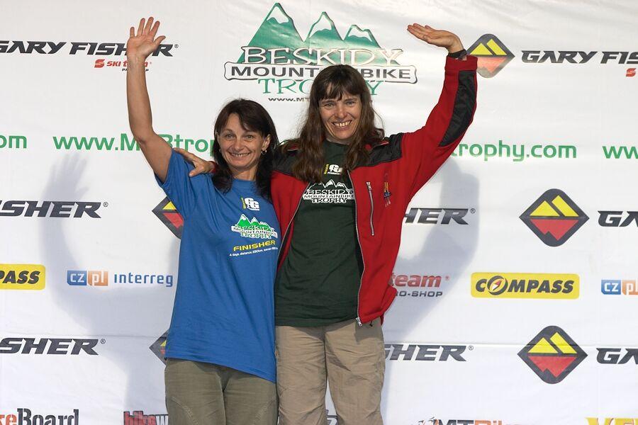 Beskidy MTB Trophy 2007 - 3. etapa 10.6. - Ludmila Damkov� vyhr�la svou kategorii