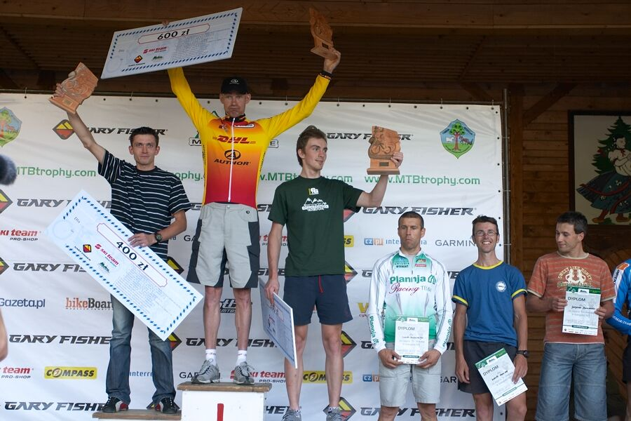 Beskidy MTB Trophy 2007 - 1. etapa 8.6.
