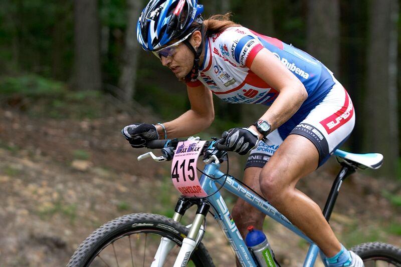 ČP XC 3. závod, Česká Kamenice 2.6.2007 - Tereza Huříková