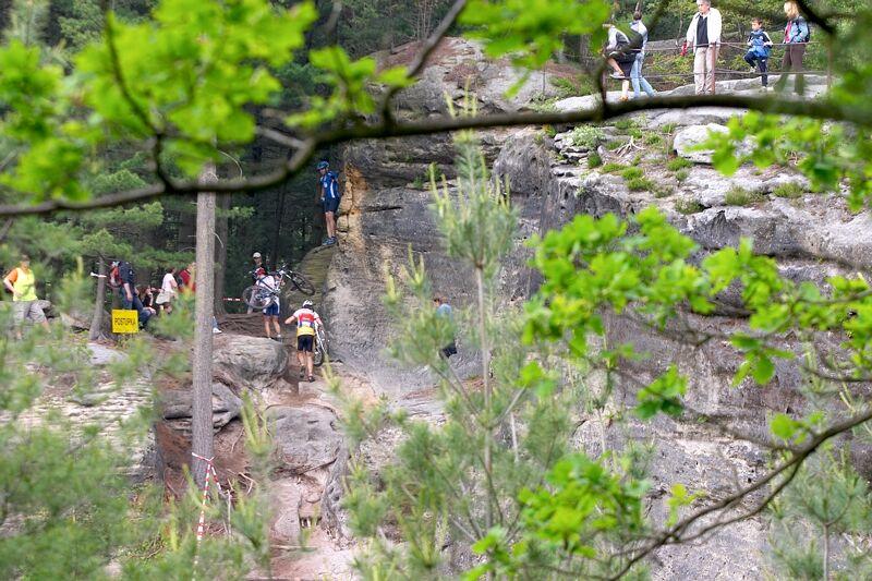 ČP XC 3. závod, Česká Kamenice 2.6.2007 - Postupka
