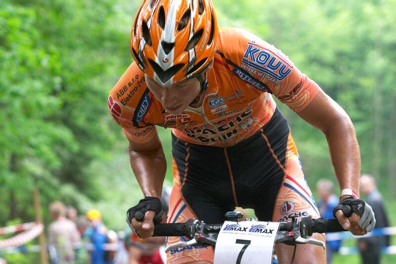 ČP XC 3. závod, Česká Kamenice 2.6.2007 - Filip Eberl