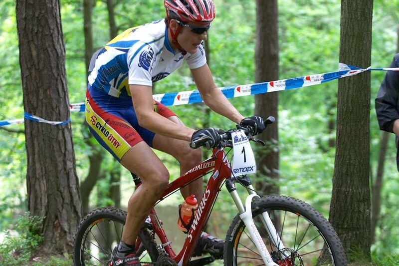 ČP XC 3. závod, Česká Kamenice 2.6.2007 - trápící se Jaroslav Kulhavý