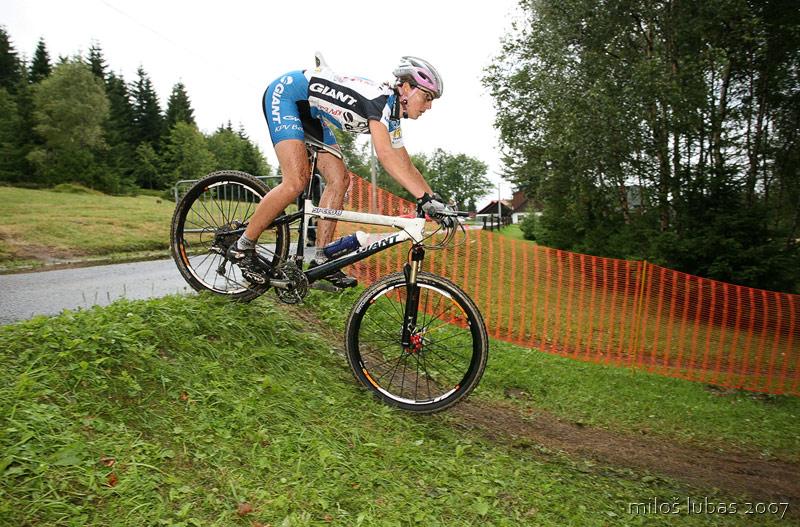 Mistrovstv� �R cross country 2007 - Zadov, foto: Milo� Lubas