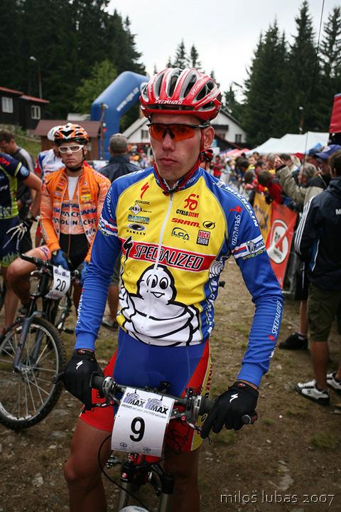 Mistrovství ČR cross country 2007 - Zadov, foto: Miloš Lubas