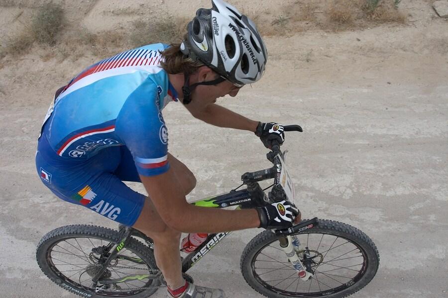 ME Cappadocia 2007 - závod mužů 15.7. - Milan Spěšný v posledním okruhu