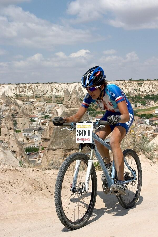 ME Cappadocia 2007 - závod žen U23 14.7. - Tereza Huříková
