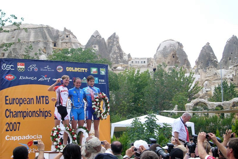 ME Cappadocia 2007 - závod žen U23 14.7.
