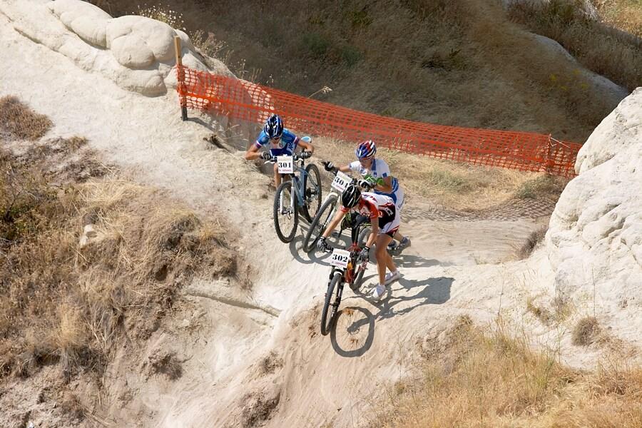 ME Cappadocia 2007 - závod žen U23 14.7. - s Osl a Homovec bojuje o druhou příčku