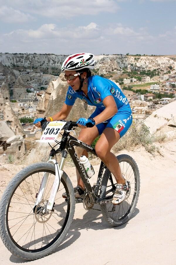 ME Cappadocia 2007 - z�vod �en U23 14.7. - Eva Lechner