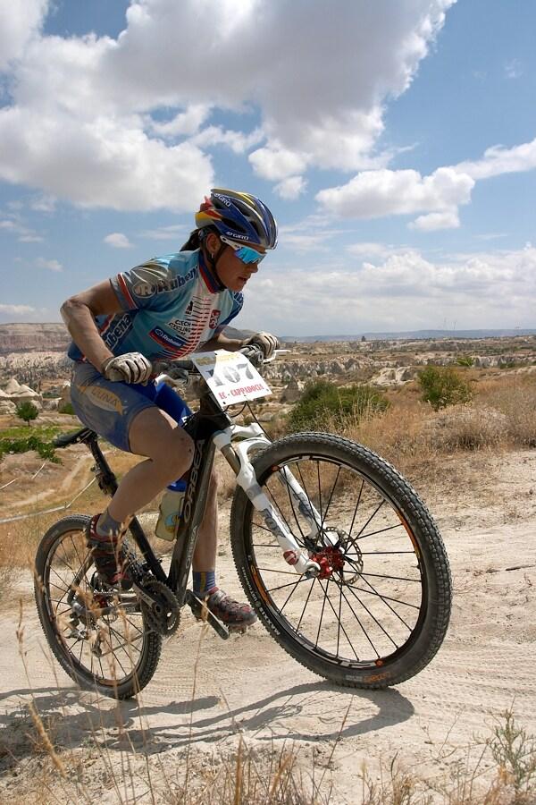 ME Cappadocia 2007 - závod žen 15.7. - Kateřina Nash