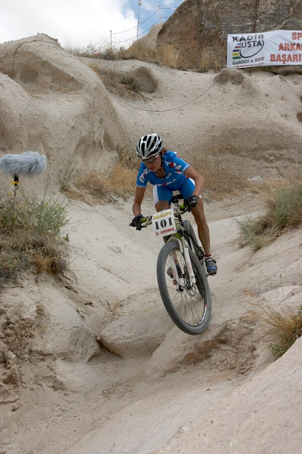 ME Cappadocia 2007 - závod žen 15.7. - Irina Kalentieva