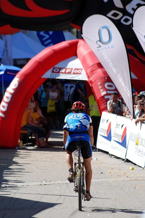 Salzkammergut Trophy 07 - dojezd do cíle