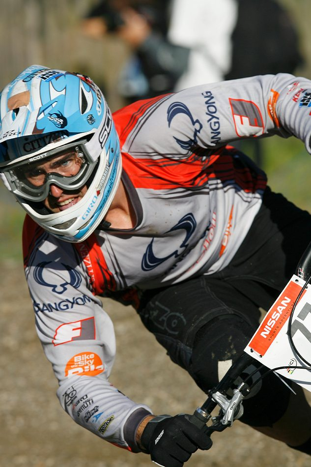 Nissan UCI 4X Cup #4 Schladming 2007 - Johannes