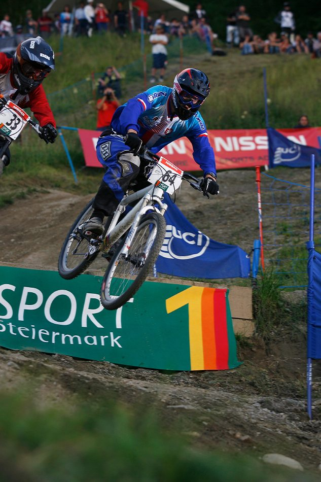 Nissan UCI 4X Cup #4 Schladming 2007 - Vít Horák