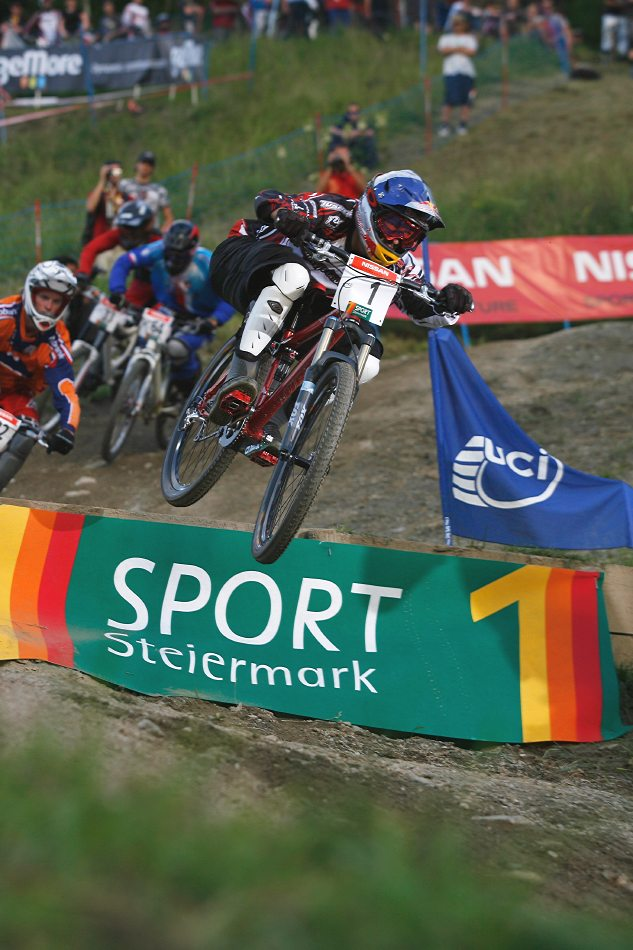 Nissan UCI 4X Cup #4 Schladming 2007 - Filip Polc