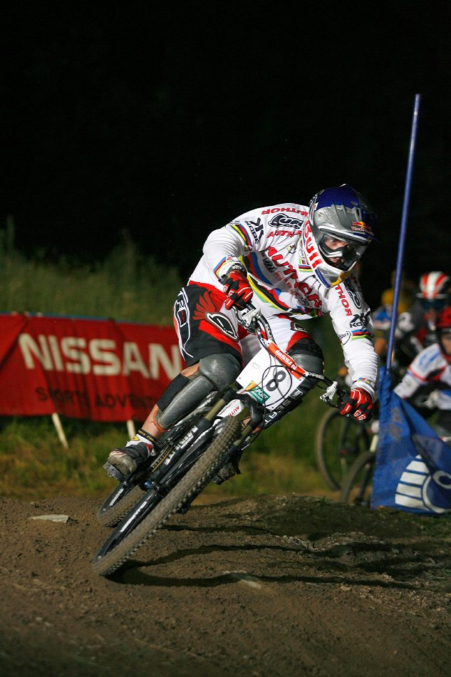 Nissan UCI 4X Cup #4 Schladming 2007 - Michal Prokop