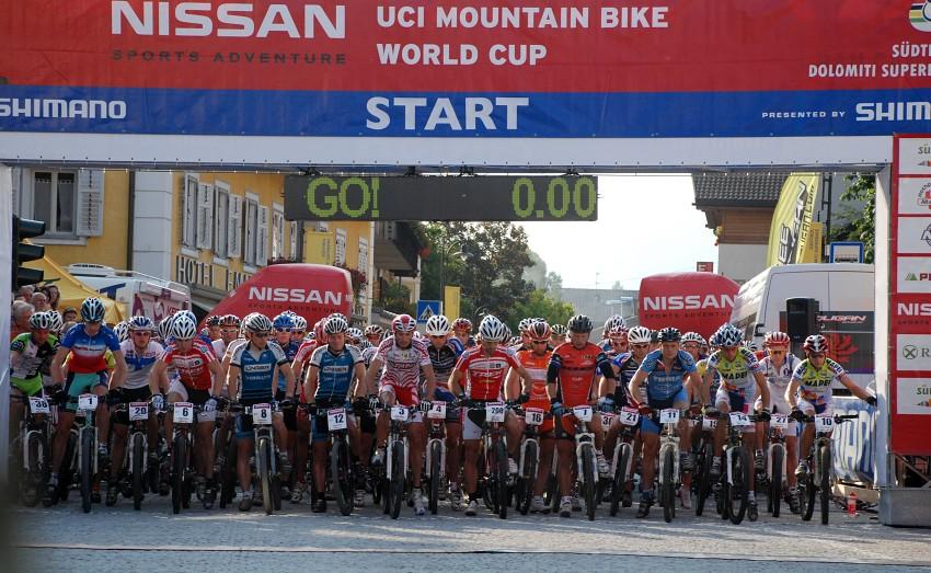 Dolomiti Superbike 07 - start mužů