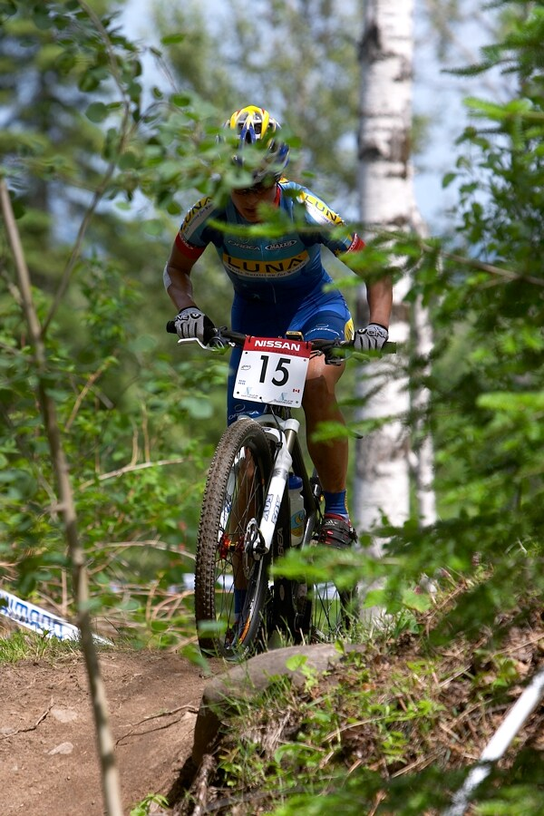 Nissan UCI MTB World Cup XC#5 - St. F�licien 1.7.'07 - Kate�ina Nash
