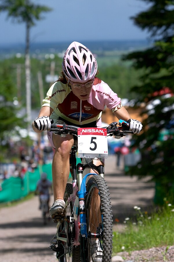 Nissan UCI MTB World Cup XC#5 - St. F�licien 1.7.'07 - Willow Koerber