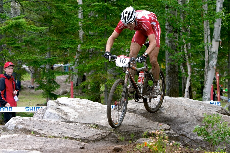 Nissan UCI MTB World Cup XC#5 - St. Félicien 1.7.'07 - Jakob Fuglsang