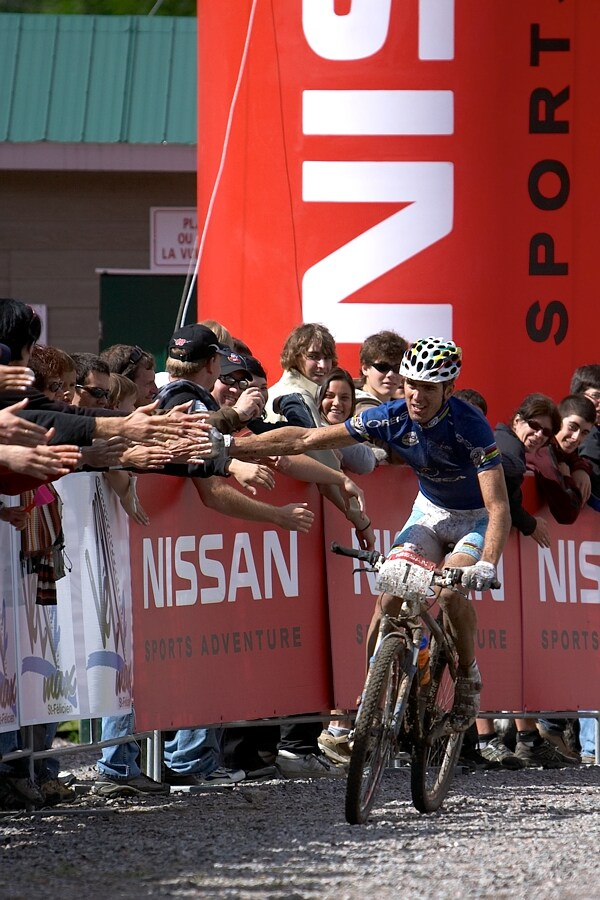 Nissan UCI MTB World Cup XC#5 - St. F�licien 1.7.'07 - Julien Absalon