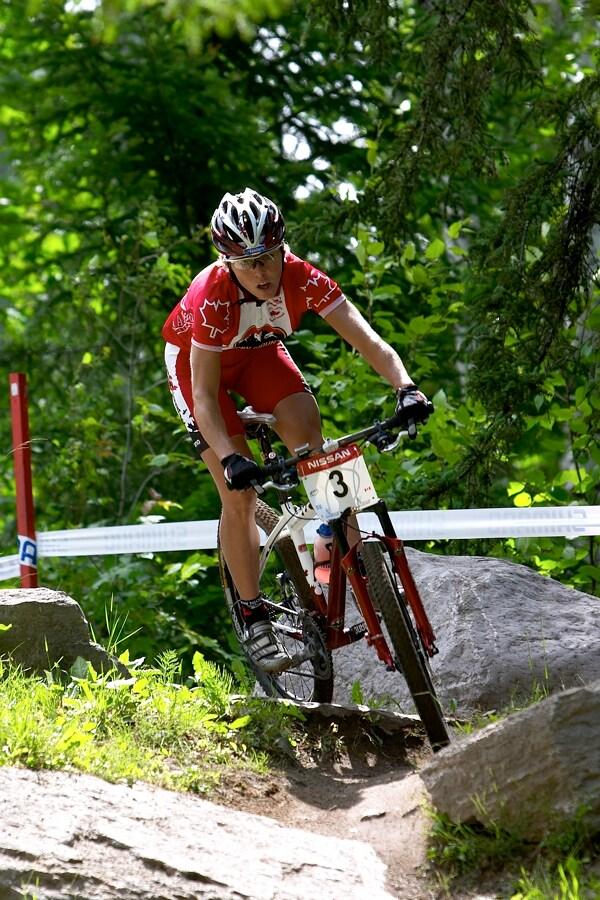 Nissan UCI MTB World Cup XC#5 - St. F�licien 1.7.'07 - Marie Helene Premont