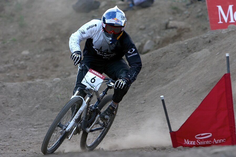 Nissan UCI MTB World Cup DH+4X #3, Mont St. Anne 24.6.'07 - Guido Tschugg