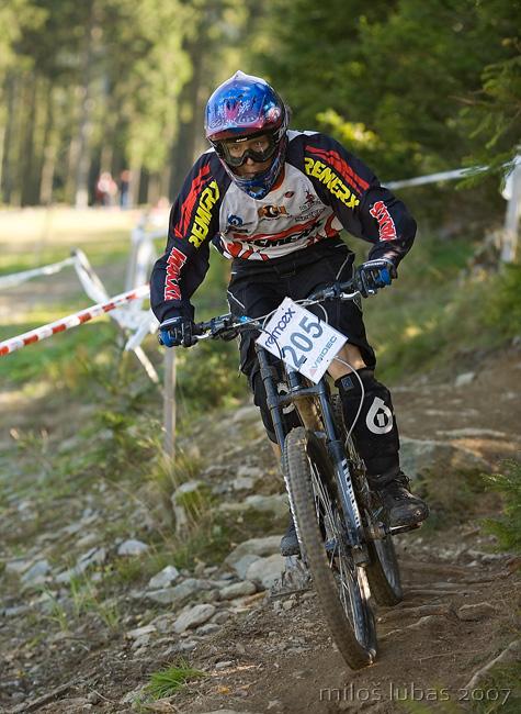 ČP Remoex DH Cup 2007 3. závod - Špindlerův Mlýn 16.9. 2007