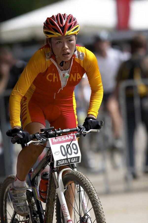 Nissan UCI MTB World Cup XC #5 - Maribor 15.9. 2007 - Liu Jing