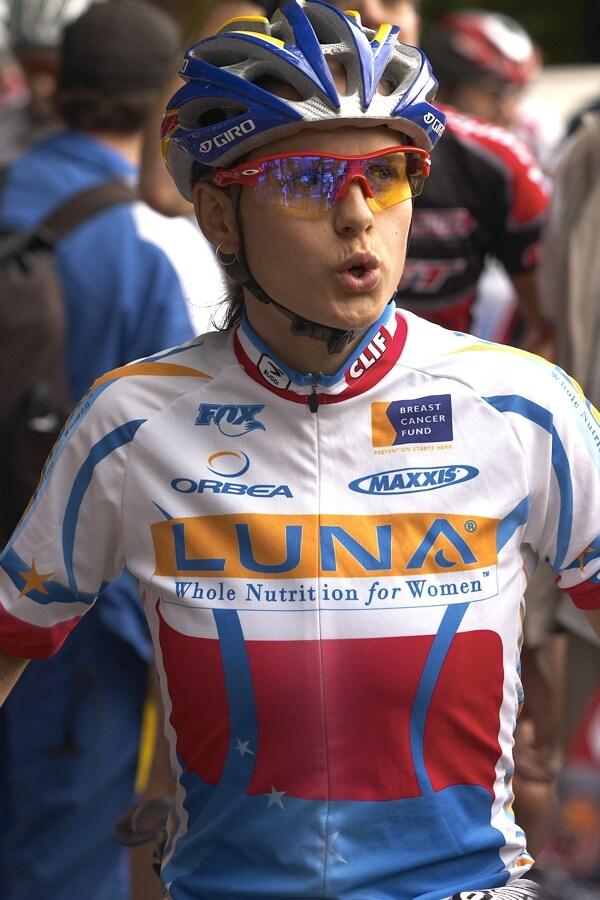 Nissan UCI MTB World Cup XC #5 - Maribor 15.9. 2007 - Kateřina Nash v dresu mistryně ČR