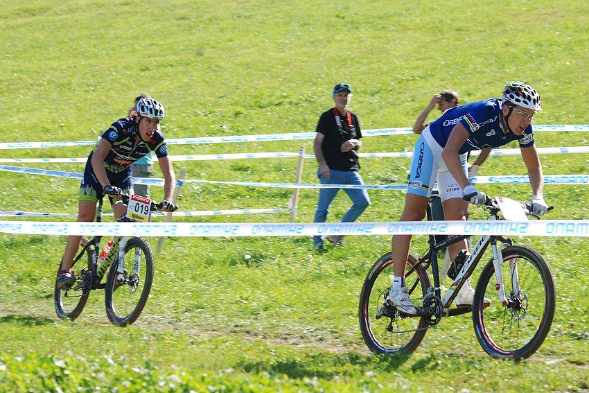 SP XC no. 6 - Maribor (SLO) - Julien Absalon a Milan Spěšný