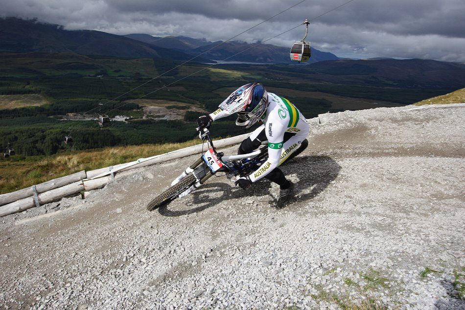 MS 2007 Downhill / Fort William Skotsko - Jared Rando
