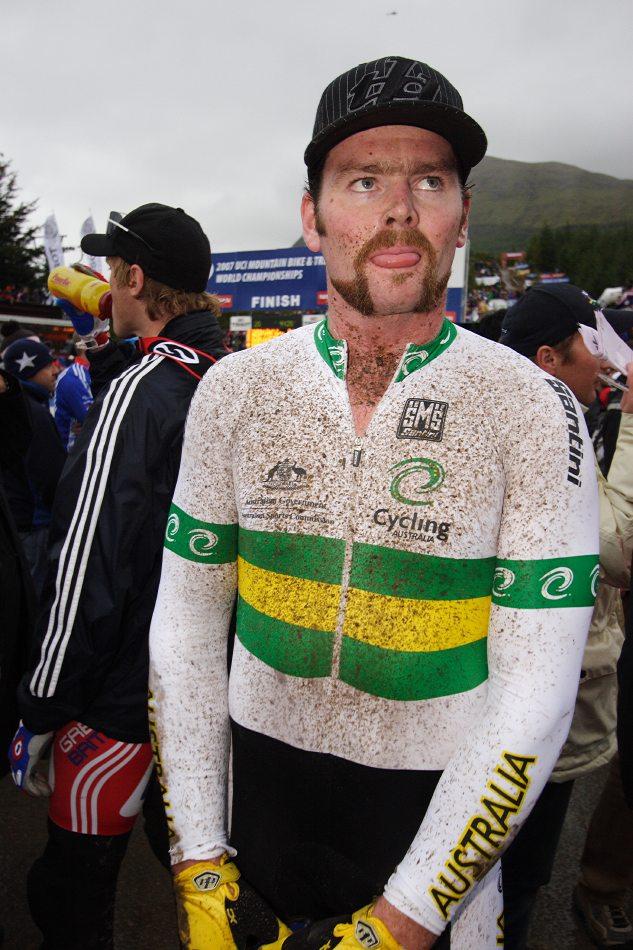 MS 2007 Downhill / Fort William Skotsko - Nathan Rennie