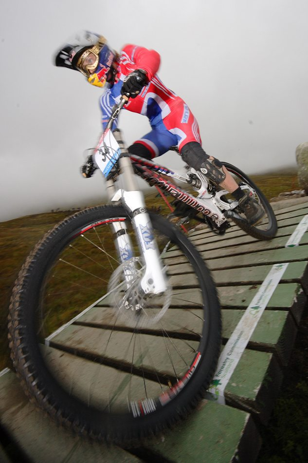 MS 2007 Downhill / Fort William Skotsko - Rachel Atherton