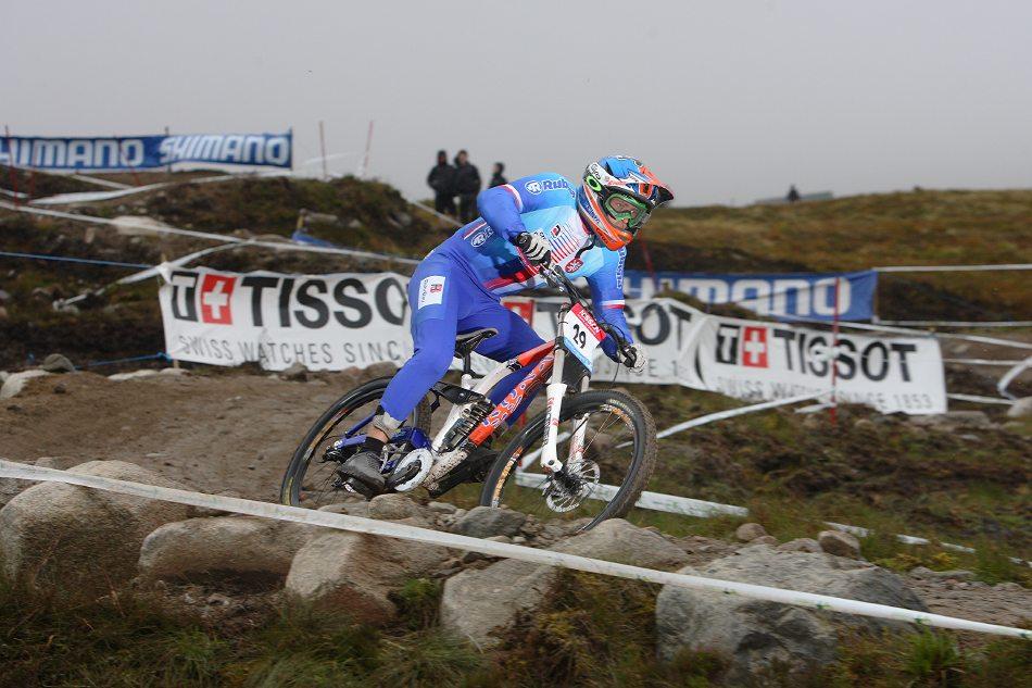 MS 2007 Downhill / Fort William Skotsko - Kamil Tatarkovič