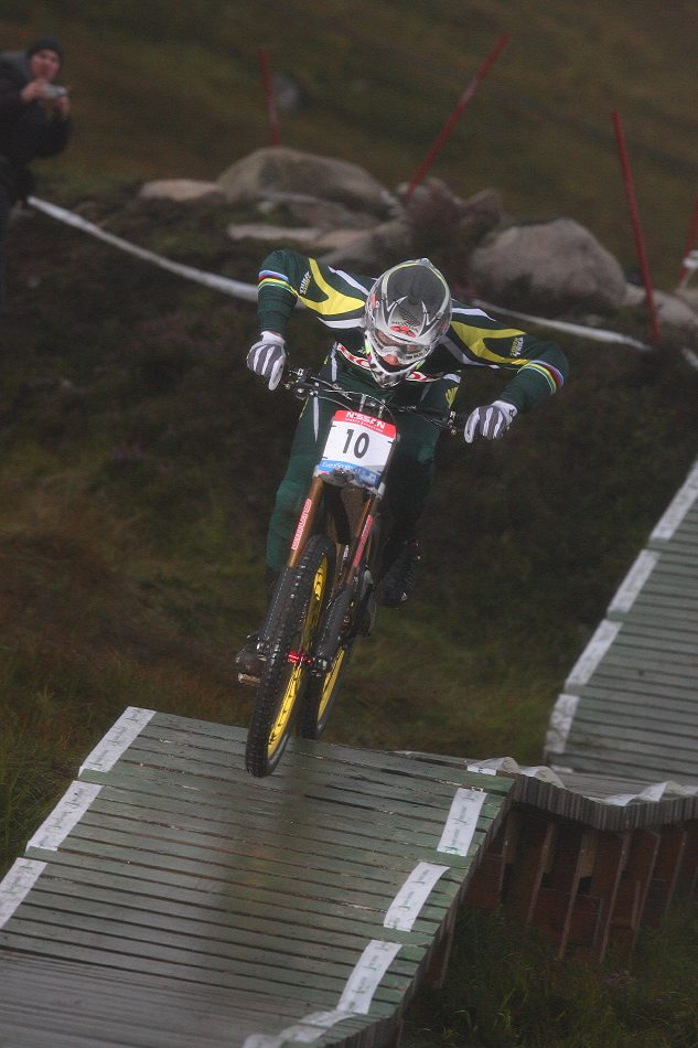 MS 2007 Downhill / Fort William Skotsko - Greg Minnaar