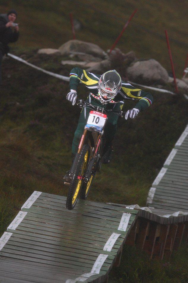 MS 2007 Downhill / Fort William Skotsko - Greg Minnaar