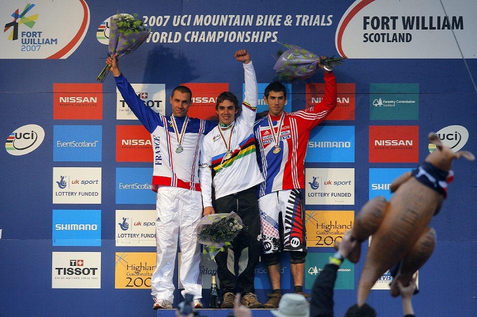 MS 2007 Downhill / Fort William Skotsko - Muži elite