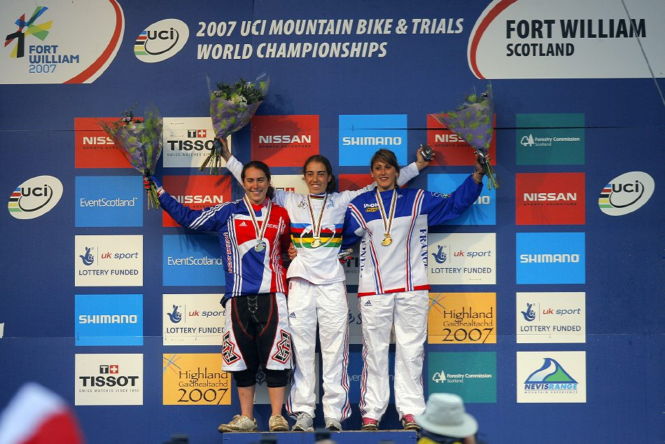 MS 2007 Downhill / Fort William Skotsko - juniorky