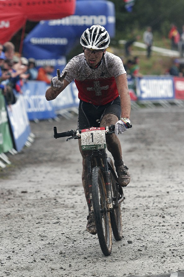 MS MTB Fort William 7.9. 2007 - Nino Schurter