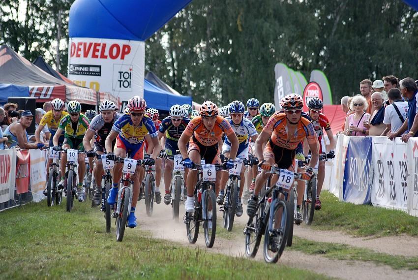 ČP XC no.5 2007 - Jablonec - start Elity