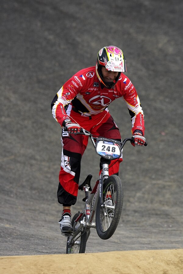 SP UCI BMX Supercross, 20.-21.8. 2007 Peking/��na - Luk� Tamme