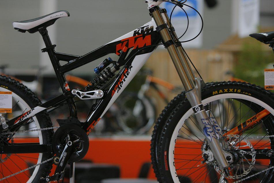KTM 2008 - Eurobike 2007 galerie