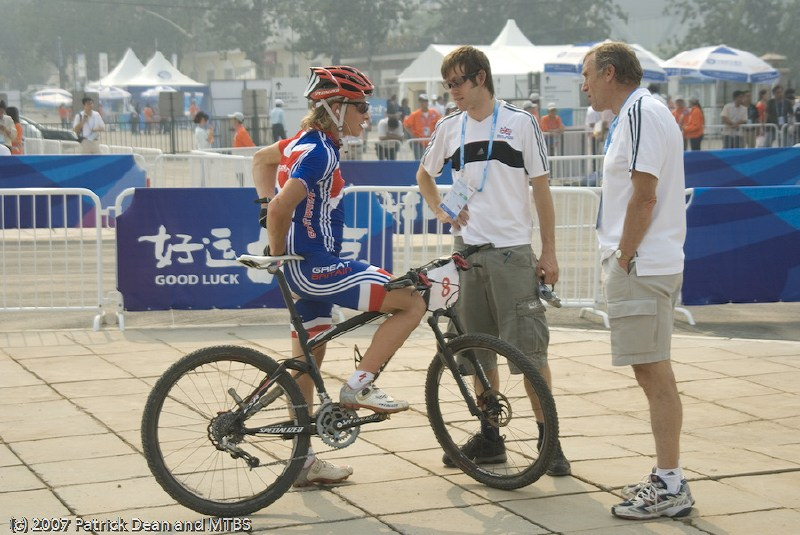 International Invitational MTB Competition - Peking, ��na 22.9. 2007 - Liam Killeen,  foto: Patrick Dean
