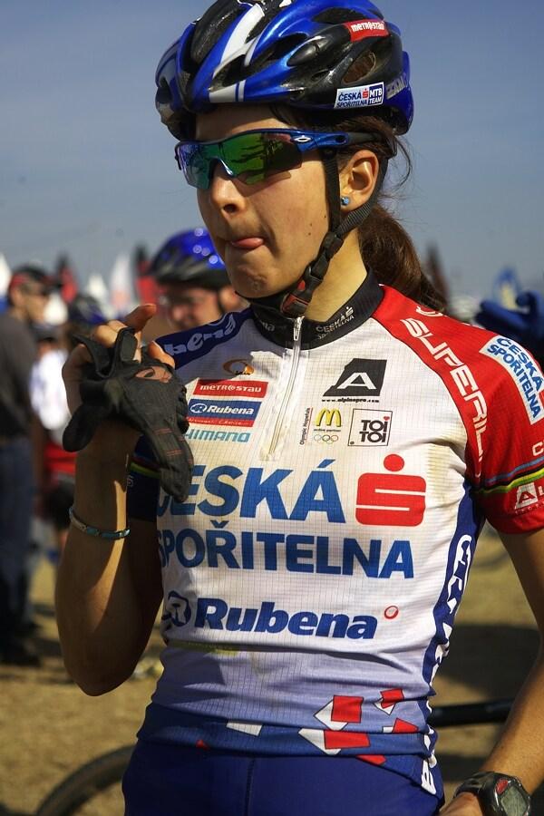 Roc d'Azur 2007 - Tereza Huříková po dojezdu závodu