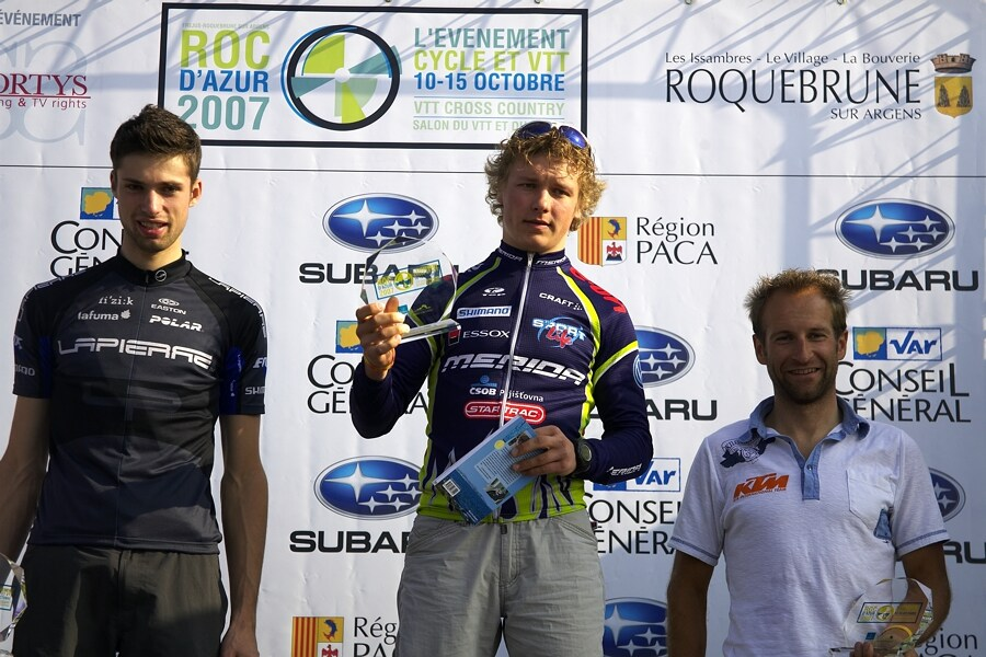 Roc d'Azur 2007 - Jiří Friedl - vítěz kaitegorie U23