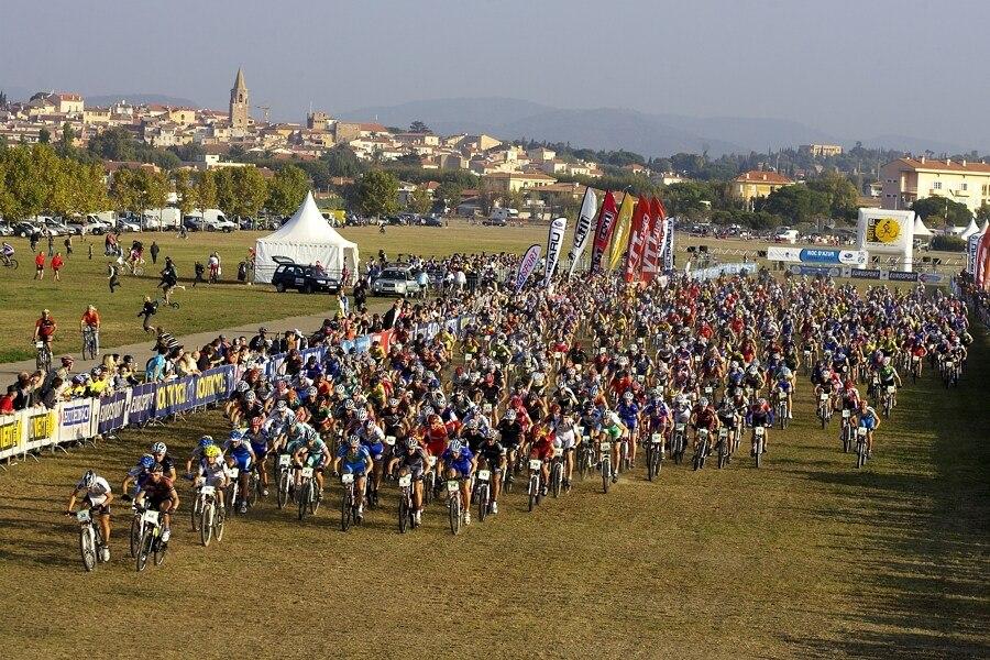 Roc d'Azur 2007 - start